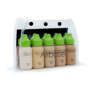 AIRBRUSH MAKE-UP FOUNDATION/GRUNDLAGEN SET 30 ML