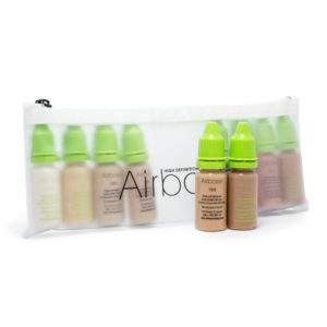 AIRBRUSH MAKE-UP FOUNDATION/GRUNDLAGEN SET 10 ML